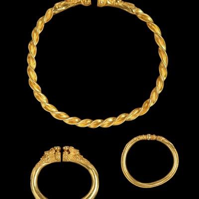 Goldschmuck der keltischen Fürstin von Reinheim