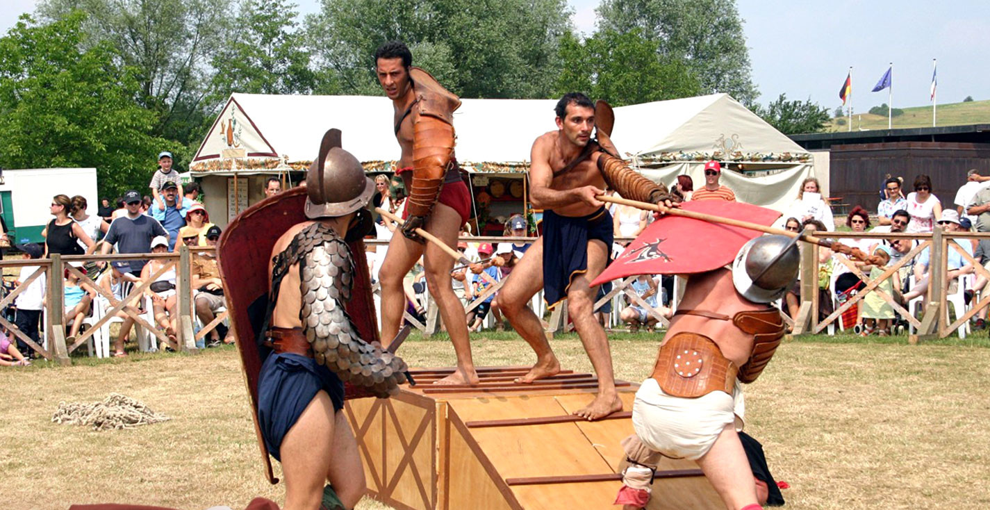 Gladiatorenkampf/ Vita Romana