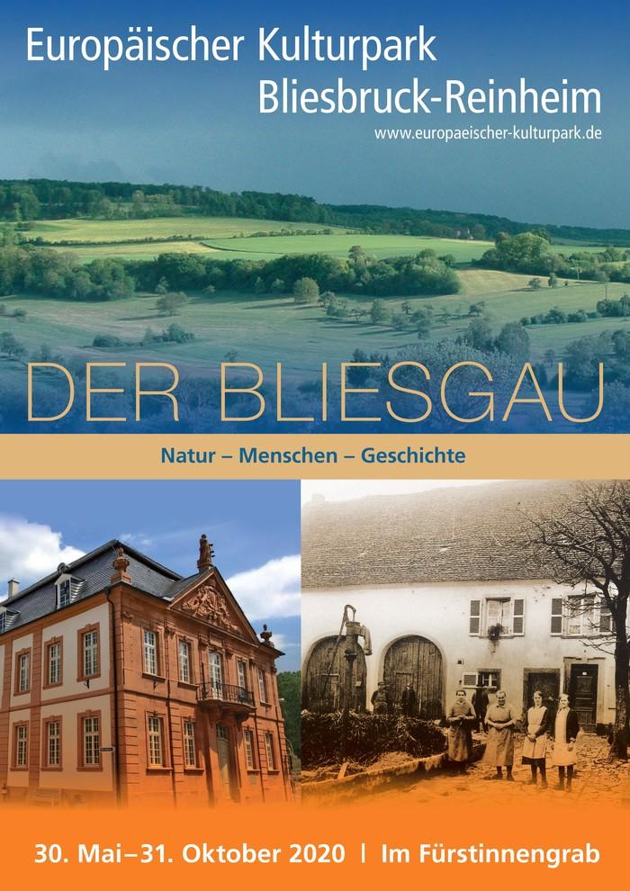 """""""Der Bliesgau"""" Plakat zur Ausstellung"""