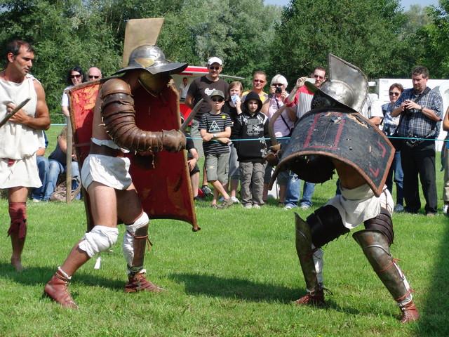 Gladiatorenkampf Reinheim